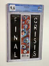 Final Crisis 7 cgc 9.6 2009 dc comics