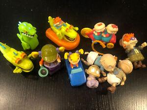 Vintage Nickelodeon Rugrats Burger King Toys loose lot of 10