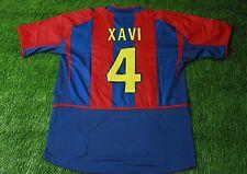 BARCELONA BARCA SPAIN #4 XAVI 2002/2003 FOOTBALL SHIRT JERSEY HOME NIKE ORIGINAL