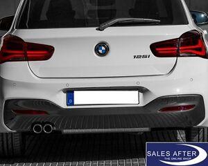 Original BMW 1er F20LCI F21LCI M Diffusor für M Heckstoßstange Doppelrohr 125i