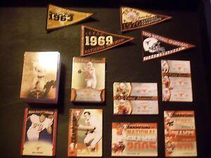 2011 Upper Deck Texas Longhorns 200 Card Master Set AND Championship Pennant Set