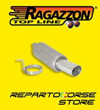 RAGAZZON TERMINALE SCARICO ROTONDO 90mm RENAULT CLIO III 1.2 16V 55kW 18.0455.60