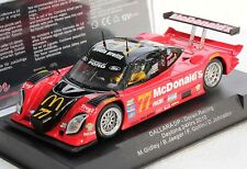 SIDEWAYS SW09 McDONALDS DALLARA DAYTONA NEW 1/32 SLOT CAR IN DISPLAY CASE