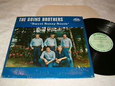 "Goins Brothers ""Sweet Sunny South"" 1985 Bluegrass LP, Nice VG++!, Vinyl"