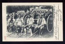 S Africa Pietermaritzburg RIKSHA BOYS early U/B 1903