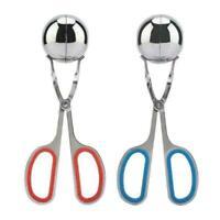 Edelstahl Gefüllte Clip Nicht-Stick Form Frikadelle Kochen Maker Werkzeuge M1Q8