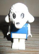 Légo x593c01 Fabuland Personnage Figure Mouton Lamb 1 du 3654 & 37921