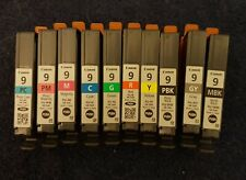 Genuine Canon 9 Ink. Complete set for Pro 9500