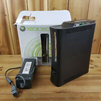Xbox 360 120GB HDD Console, Adapter + Box Only No Leads See Photos and Descript