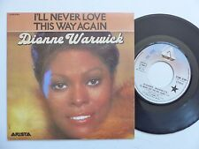 DIONNE WARWICK I'll never love this way again 2C008 62904 FRANCE Discotheque RTL