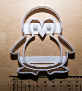 Penguin Cookie or fondant  Cutter 3d printed