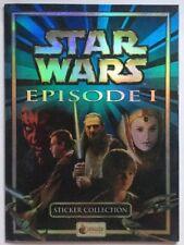 Merlin Star Wars Episode 1 The Phantom Menace Sticker Collection Album