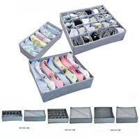 3Pcs Drawer Divider Closet Underwear Socks Organizer Container Storage Box Home
