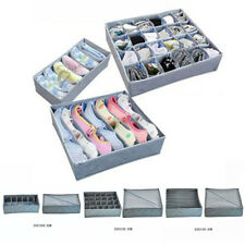 3x cassetto Organizer Armadio BIANCHERI intima CALZINI CRAVATTE contenitore