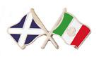 Mexico Flag & Scotland Flag Friendship Courtesy Pin Badge