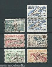 OLYMPIQUES - 1953 Y&T 960 à 965 - TIMBRES OBLITÉRÉS - COTE 18,00 €
