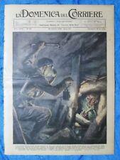 La Domenica del Corriere 28 ottobre 1934 Francia -Berlino - Mussolini D'Annunzio