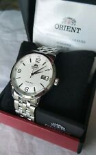 *offers* Orient Symphony Automatic S/Steel Mechanical Watch Dress Casual Men's