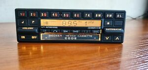 Classic Mercedes-Benz Radio Cassette Becker Mexico BE837 Old school Very Rare