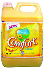 Comfort Fabric Softener Laundry Fragrance Conditioner - 5L Litre - Sunshine
