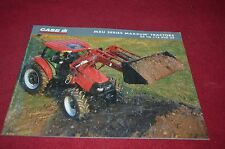 Case International MXU Series Maxxum Tractors Dealer's Brochure YABE10 ver4