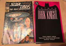 Lot 15 DC Comics Number 1 Issues Legends Dark Knight Star Trek TNG Green Lantern