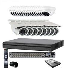 32CH 6MP All-in-1 1U DVR HDTVI (24) 4-in-1 TVI AHD OSD & Security Camera System
