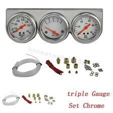3in1 Voltage/Water Temp/Oil Pressure Gauge Fit Most Hot Rods and Classic Engines