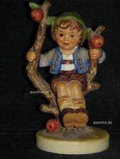 "Goebel Hummel 142/3/0 ""Herbst"", apple tree boy, Junge sitzt in Baum"