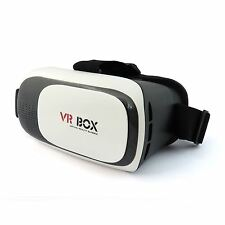 Virtual Reality VR 3D Gaming Headset Glasses Gift for iPhone 6 7 Galaxy S6 S7 UK