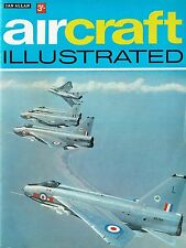 AIRCRAFT ILLUSTRATED MAR 68: LAUNCH ISSUE/ RAF HISTORY/ RAF FIGHTERS/NAM CASEVAC