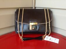MARC JACOBS 1984 POLLY MINI LEATHER PURSE HAND BAG EVENING CLUTCH BLACK $895