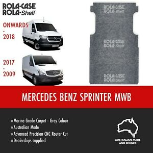 Mercedes Benz Sprinter MWB Genuine Van Cargo Flooring Marine Grade Carpet