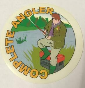 Complete Angler / CLASSIC FISHING STICKER