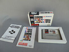 NBA LIVE 95 GAMES SUPER NES complete boxed with record