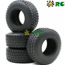 US Shipping 4pc RC 2.2 Dune T/A Off Road Tires Fit RC 4WD Axial 2.2 Beadlock Rim