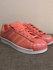2021940ae980 Adidas Size 8 Women s Tactile Rose Superstar 80S Shoe - BY9750