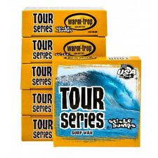 sticky bumbs surfboard Tour Series surf wax 10 pack Warm - Tropical + wax comb