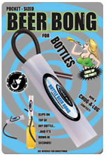 Head Rush Bottle Beer Bong, Bottle Bong, Mini Beer Bong, Pocket Beer Bong