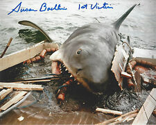 Jaws 1st Victim autographed 8x10 color photo (Chrissie) Shark Attack on boat*