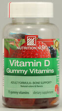 Rhino Gummy Vitamin D, Nutrition Now, 75 piece