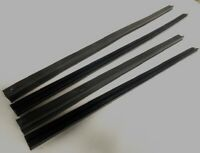 RUBBER OUTER WEATHER STRIPS FOR MAZDA RX4 929 SEDAN FRONT + REAR 4PCS