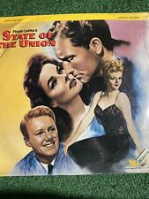 LD laserdisc Capra's STATE OF THE UNION Hepburn/Tracy
