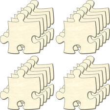 Puzzle vuoti all'infinito, taglia S, Set 20 parti, parti Puzzle in legno, dipingere