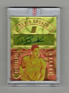 NBA - DEVIN BOOKER 2016/17 DIFFERENCE MAKERS ON CARD AUTO 32/75 ONLY !! NICE !!!