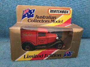Matchbox Superfast 38 Ford Model A PMG MIB