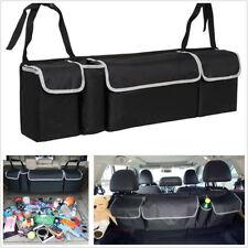 Car Trunk Organizer Backseat Storage Bag Multi-use Oxford Cloth Car Seat Back 1X