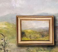 Hinterland am Gardasee Ölgemälde von Louise Nys Bruggeman (*1923 -2013 Tournay)