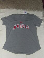 MLB LA Angels of Anaheim Angels Baseball Womens Team T-Shirt XL NWT