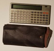 CASIO FX-702P Programmable Calculator With Case and New Batteries Tested